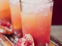 Pink and Orange Mocktails recipe