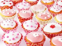 Pink and White Cupcakes recipe