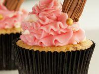 Pink Buttercream Cakes recipe