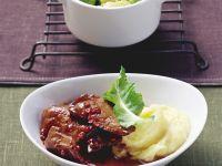 Pink Peppercorn Liver recipe
