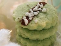 Pistachio and Vanilla Cookies recipe