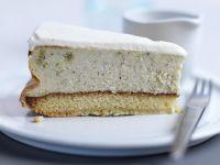 Pistachio Cheesecake with Shortbread Crust recipe