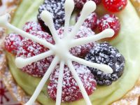 Pistachio Tartlets with Mixed Berries recipe
