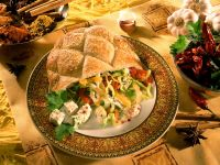 Pita Bread Sandwiches Stuffed with Vegetable Salad recipe