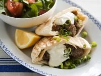 Pita Bread Stuffed with Lamb recipe