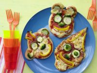 Pizza Faces recipe