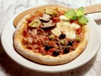 Pizza Four Seasons (Quattro Stagioni) recipe