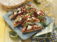 Pizza Toasts recipe