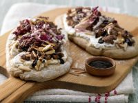 Pizza with Ground Lamb recipe