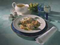 Plaice in White Wine and Saffron Sauce recipe