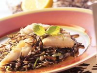 Plaice with Wild Rice recipe