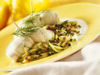 Plaice with Zucchini recipe
