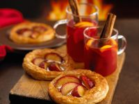Plum and Marzipan Tartlets recipe
