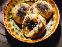 Plum Butter Dumplings with Poppy Seeds recipe
