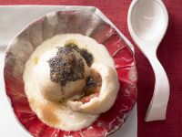 Plum Dumplings with Orange Sauce recipe