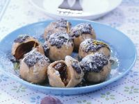 Plum Dumplings with Poppy Seed Sauce recipe