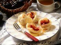 Plum Dumplings with Quark Dough recipe
