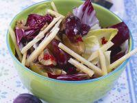 Plum Salad with Pecorino Cheese
