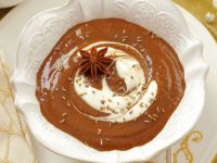 Plum Soup with Whipped Cream recipe