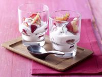 Plums with Cinnamon Buttermilk recipe