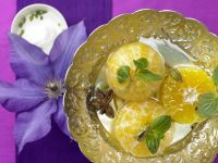 Poached Clementines recipe