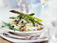 Poached Cod with Asparagus recipe