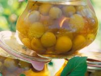 Poached Mirabelle Plums recipe