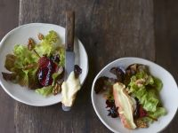 Green Salad with Poached Pears recipe