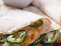 Poblano and Cheese Quesadillas recipe