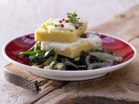 Polenta Cheese Squares recipe
