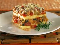 Polenta Vegetable Lasagne recipe