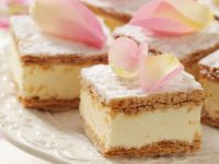 Polish Cream Squares recipe