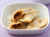 Polish Dumplings with Sauerkraut and Mushroom Filling recipe