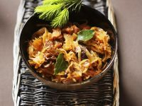 Polish Pork Stew with Sauerkraut and Prunes recipe