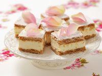 Polish Style Vanilla Squares recipe
