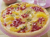 Pomegranate Orange Tart recipe