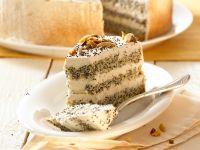 Poppy Cake with Almonds recipe