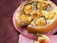 Poppy Cake with Quark and Apples recipe