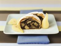 Poppy Seed and Pear Strudel recipe