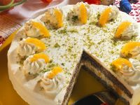 Poppy Seed Cake with Oranges recipe