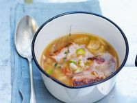 Pork and Bean Broth recipe