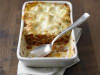 Pasta and Meat Sauce Bake recipe