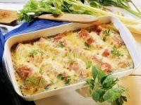 Pork and Celery Gratin recipe