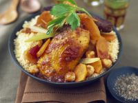 Pork and Chicken Casserole with Grains recipe