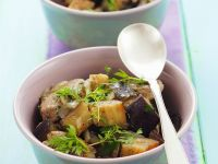 Pork and Eggplant Bowls recipe
