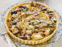 Pork and Eggplant Quiche recipe