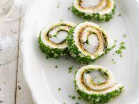 Pork and Green Leaf 'sushi' recipe