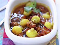 Pork and Green Onion Stew recipe