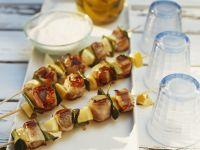 Pork and Lemon Skewers recipe