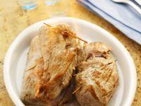 Pork and Mushroom Parcels recipe